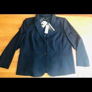 NWT Jones New York Navy Blazer Size 20